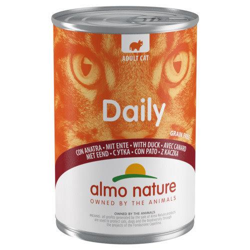 Almo Nature Almo Nature Kat Daily Menu Natvoer - Blik 400 g Eend