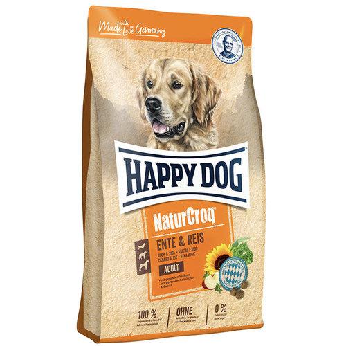 Happy Dog Happy Dog NaturCroq Eend & Reis 12kg.