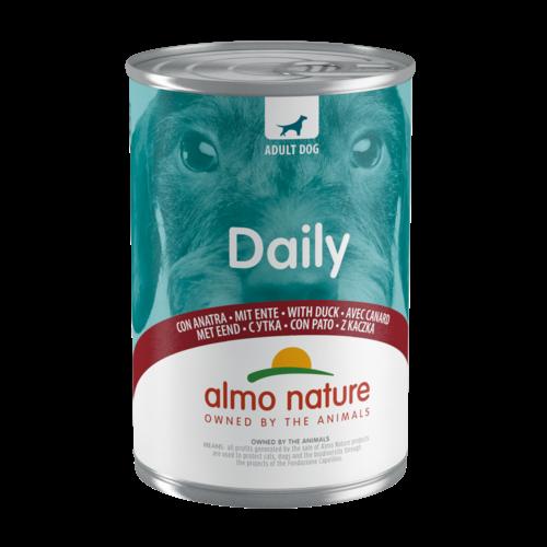 Almo Nature Almo Nature Hond Daily Menu Natvoer - Eend 400g