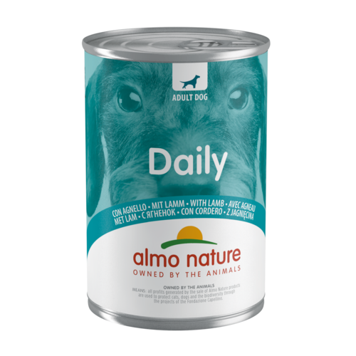 Almo Nature Almo Nature Hond Daily Menu Natvoer - Lam 400g
