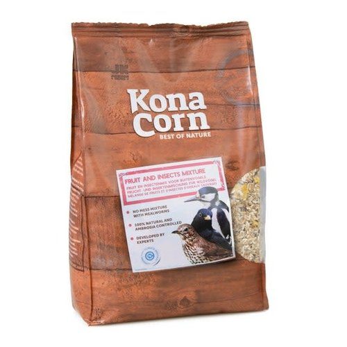 Konacorn KonaCorn Fruit and insects mix 1,5 kg