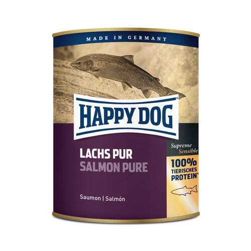 Happy Dog Happy Dog Lachs Pur (Pure zalm) 190 gr.