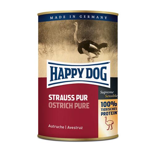 Happy Dog Happy Dog Struisvogel Pur 400gr.