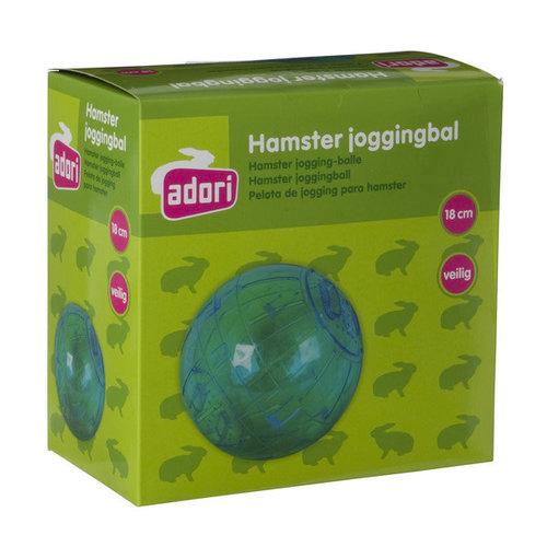 Adori Hamster joggingbal plastic s transparant 12 cm