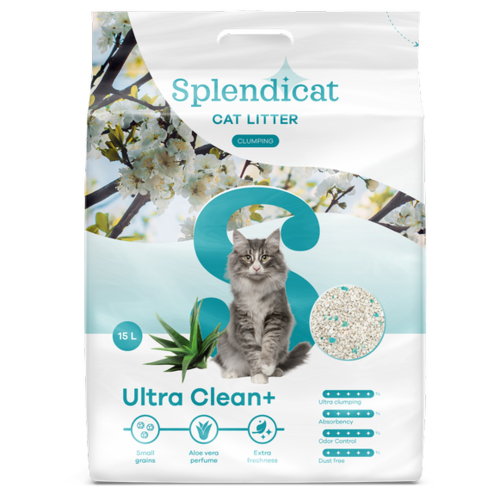 Splendicat Splendicat Ultra Clean+ 15 l