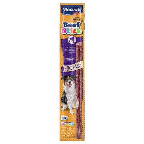 Vitakraft Vitakraft Beefstick hond lam 12 g per stuk