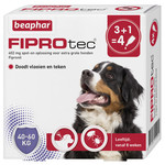 Beaphar Fiprotec hond 3+1 pip 40-60kg