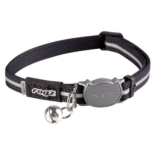 Rogz AlleyCat Halsband Small Black