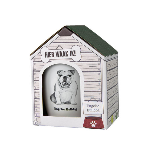 Paper Dreams Dog mug - Engelse Bulldog