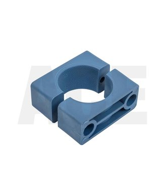 Leiding beugel 18 mm Blauw