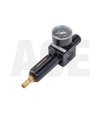 "Aventics reduceer/vochtafscheider 3/8"" staal 0821300335"