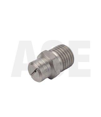 RVS 1/4 NPT vlakstraal nozzle 15055, hd-rawa 3 per kant