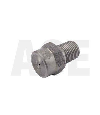 "RVS 1/8"" puntstraal nozzle MEG004"