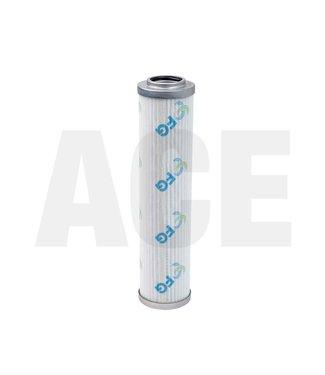 Retourfilter hydrauliek-unit 23,7cm deksel/deksel