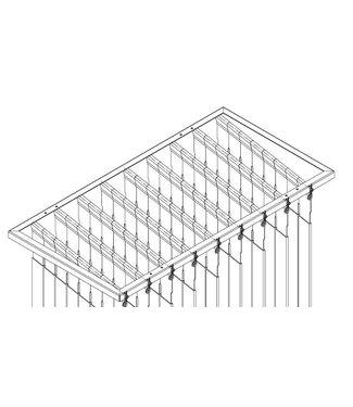 Holz frame met opnamestangen voor RUT mitter