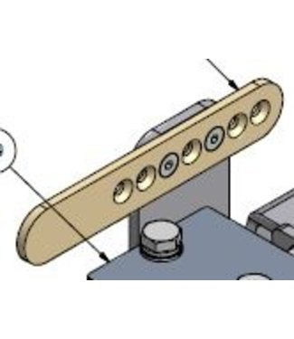 Holz sensor houder voor HD-RAWA met elektrische aandrijving