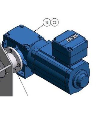 Holz elektromotor voor HD-RAWA