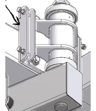 Holz kantelbare opnameplaat voor RUW arm