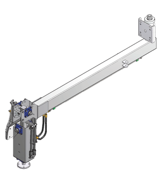 Holz korte arm voor standaard RUW (incl aandrijf behuizing)