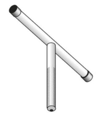 """UDI spindel voor 3"""" filter, type1000/2000 serie"""