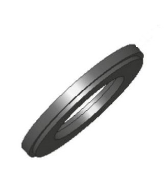 "UDI rubber voor 3"" filterdeksel, type circukon 8000"