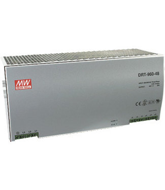 Meanwell voeding 40A 24vdc, 380v