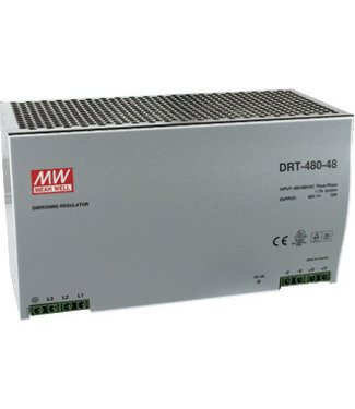 Meanwell voeding 20A 24vdc, 380v