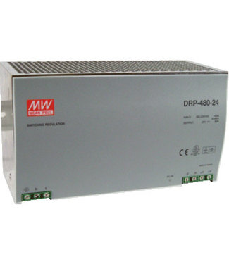 Meanwell voeding 20A 24vdc, 230v