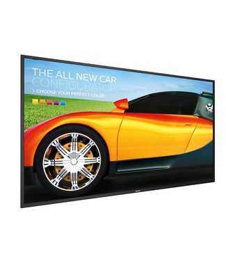 "48"" tv voor RVS tv-zuil"