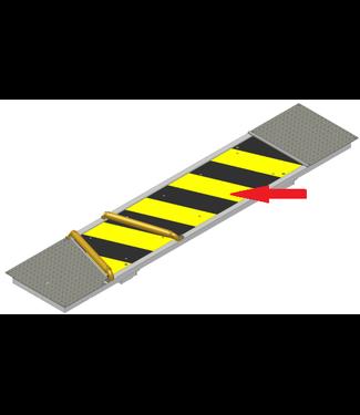 Holz invoegplaat bovenkant (geel/zwart)