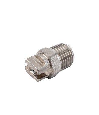 RVS 1/8 vlakstraal nozzle MEG-0503, Volume boog