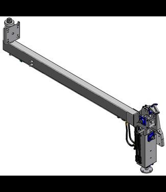 Holz lange arm voor standaard RUW (incl aandrijf behuizing)