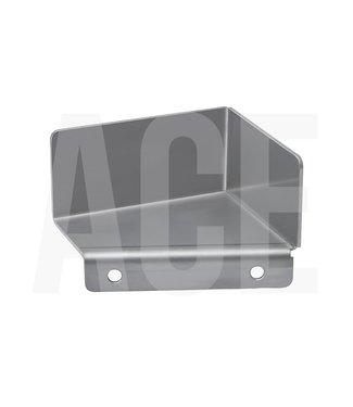 RVS kap voor sensoren op ACE showboog links