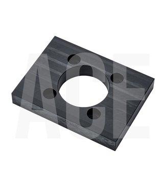 Holz kunststof torsie plaat voor hydrauliekmotor