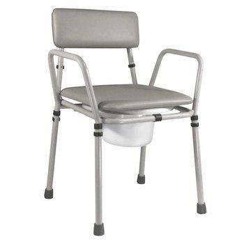 Toiletstoel / Po stoel Essex in hoogte verstelbaar demontabel