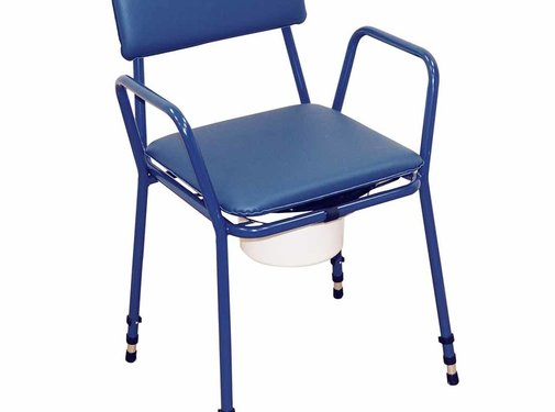 Toiletstoel / Po stoel Essex in hoogte verstelbaar