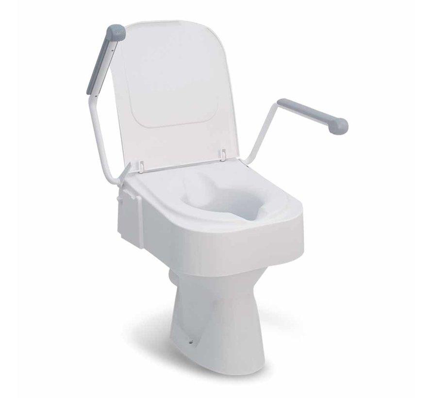 Toiletverhoger TSE 150 met Armsteunen