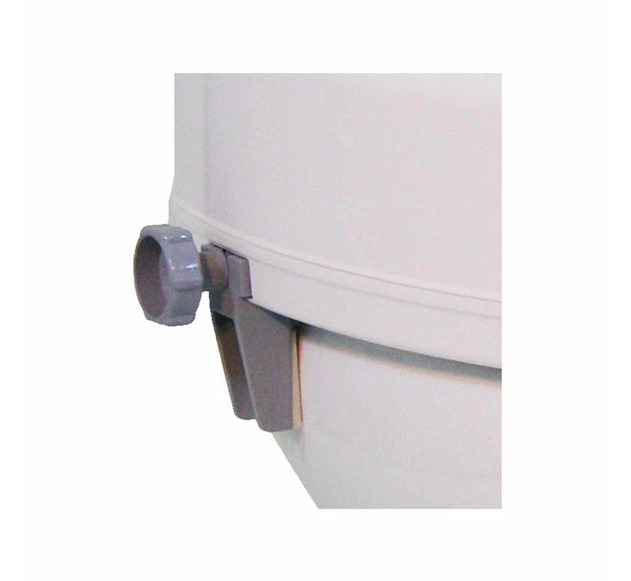 Toiletverhoger Ticco 2G 15 cm met Deksel