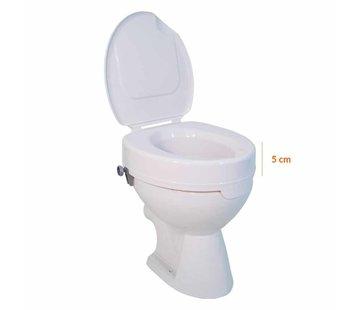 Drive Toiletverhoger Ticco 2G 5 cm met Deksel
