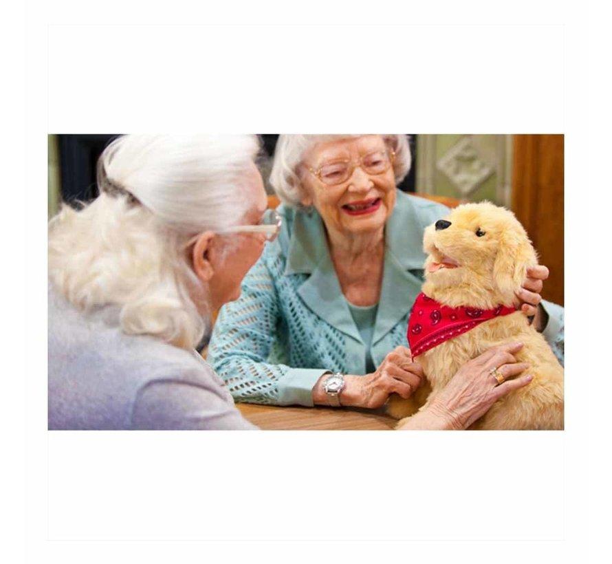 Interactieve hond voor ouderen