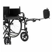 MultiMotion Rolstoel beensteun verstelbaar voor (M1, M1Plus, M9 en Compact Lite)