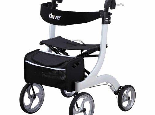 Drive Lichtgewicht Rollator Nitro Wit (7 kg)