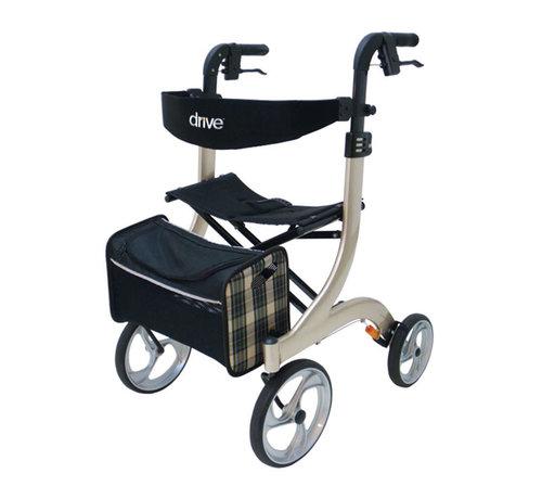 Drive Lichtgewicht Rollator Nitro Champagne (7 kg)