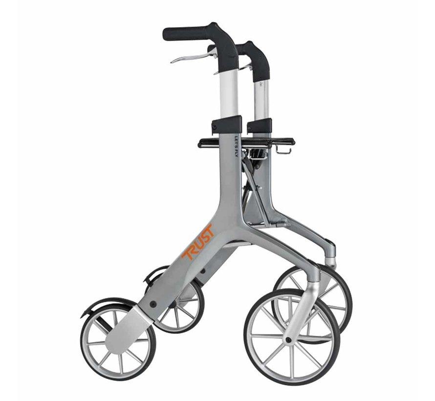 Lichtgewicht rollator Let's Fly (6,9 kg)
