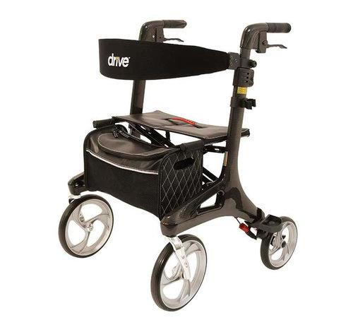 Drive Lichtgewicht rollator Nitro Carbon (5.8 kg)