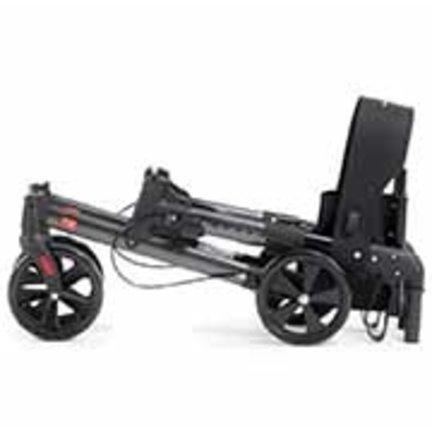 Dubbel opvouwbare rollator