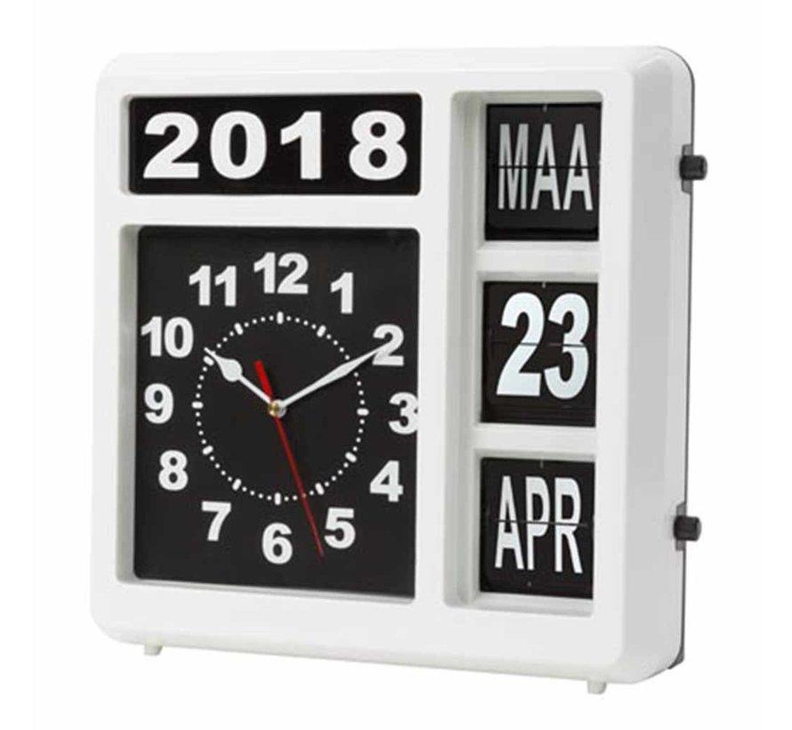 Kalenderklok Extra groot