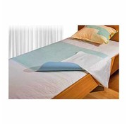 Wasbare bed onderlegger met instopstrook 85 x 90 cm