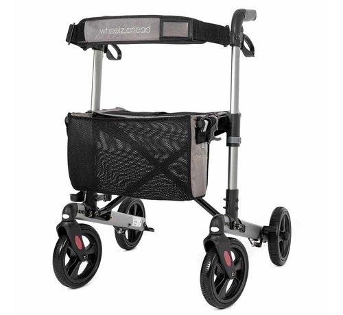 Wheelz Ahead Lichtgewicht rollator Track 4.0 (7,4 kg)