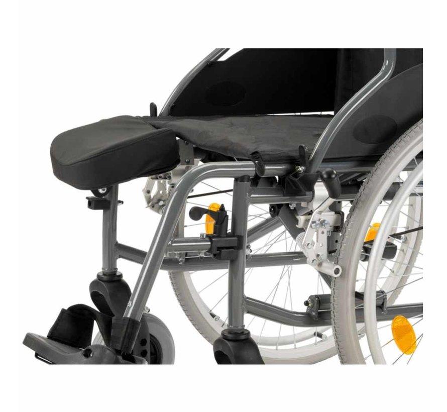 Stompsteun / Amputatiesteun voor rolstoel M5 en M6